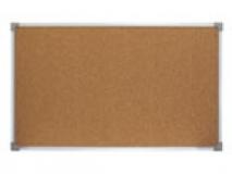 Пробковая доска в металлической рамке 50х70 см
