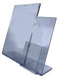 Подставка под информацию формата А4 с карманом под буклеты формата 1/3А4