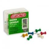 Кнопки пластиковые для пробковых досок (50 штук в упаковке)