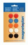 Набор разноцветных сигнальных магнитов D 20 мм в блистере Magnetoplan
