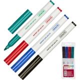 Набор маркеров для магнитно-маркерных досок Attache 4 цвета (толщина линии 1-3 мм)