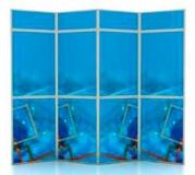 Стенд Fold-Up типа B 4х2 с фризом