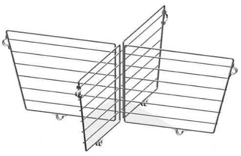 Разделитель для корзины 600x600x200 (комплект)