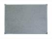 Доска для заметок текстильная серая