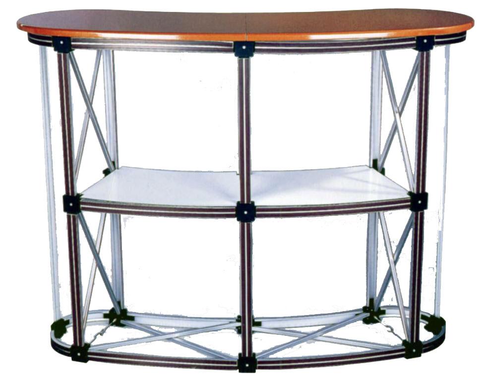 Складной стол-ресепшн