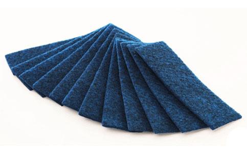 Комплект из 2-х фетровых полосок для губки-стирателя