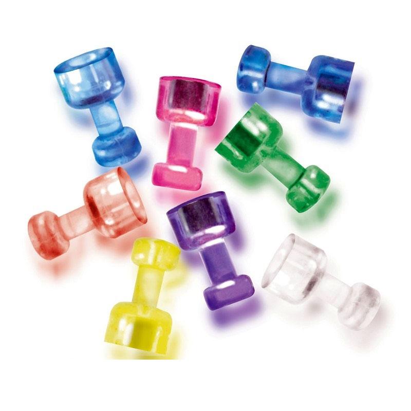 Магнитный держатель для досок усиленный Attache, 6 штук в упаковке цветной