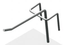 Крючок штыревой 75 мм
