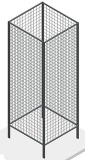 Стенд сетчатый 4-х сторонний 1830х630