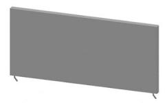 Фриз для прикассовой стойки 440 мм