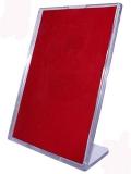 Держатель информации наклонный формата А4 с верхней загрузкой