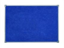 Доска для заметок текстильная синяя