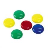 Магниты для магнитно-маркерных досок диаметром 30 мм 6 штук в упаковке