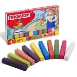 Школьные мелки Пифагор, набор 10 цветов
