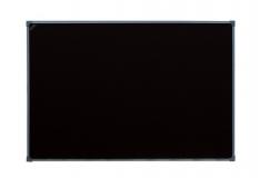 Одноэлементная черная меловая доска (магнитная) в металлическом профиле 100 х 120