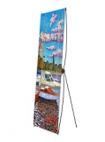 Мобильный стенд Х-банер Lux (190 см)