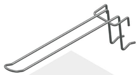 Крючок язычковый 175 мм с зацепом