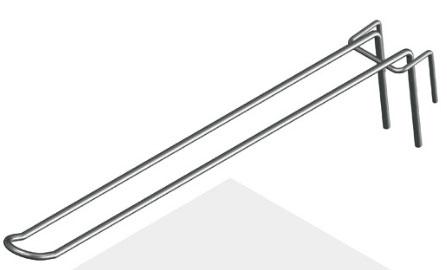Крючок язычковый 275 мм