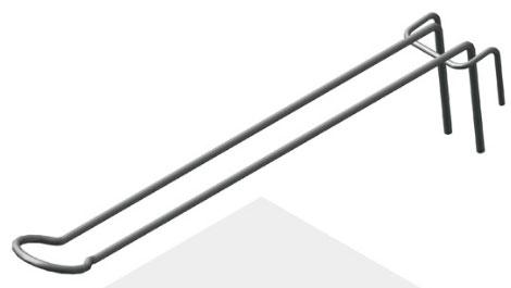 Крючок для гибкой подводки
