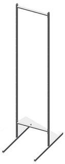 Основа прикассовой стойки двухсторонняя 440 мм
