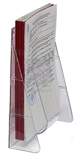 Настольный карман формата А4 с зажимом
