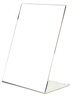 Подставка под информацию настольная наклонная формата А4