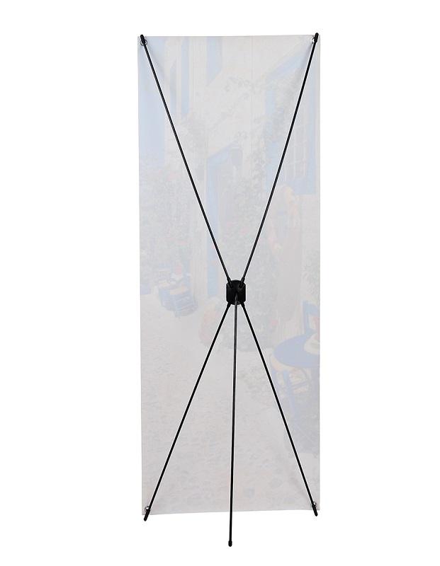 Мобильный стенд Х-банер basic