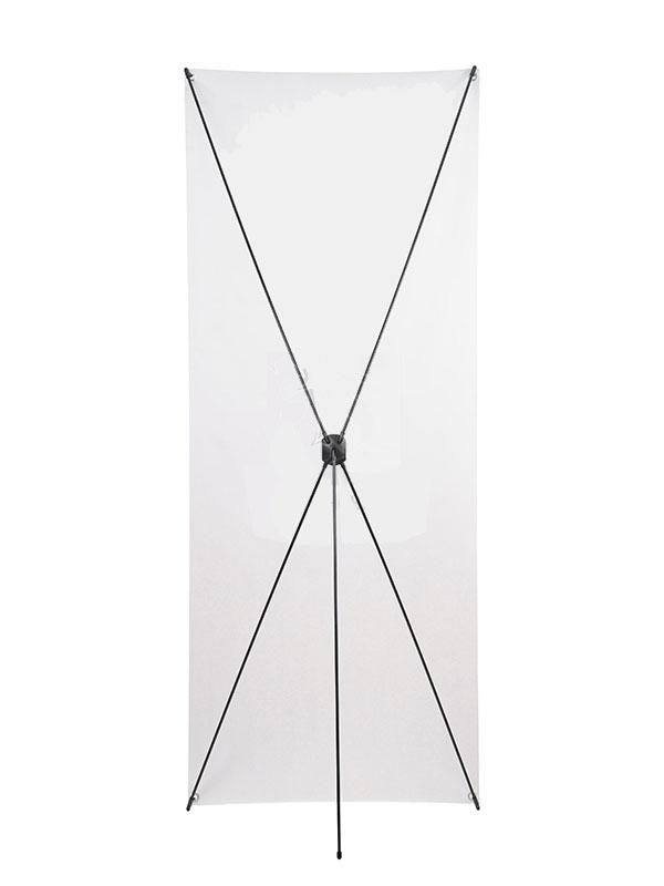 Мобильный стенд X-баннер Basic 80x200 см