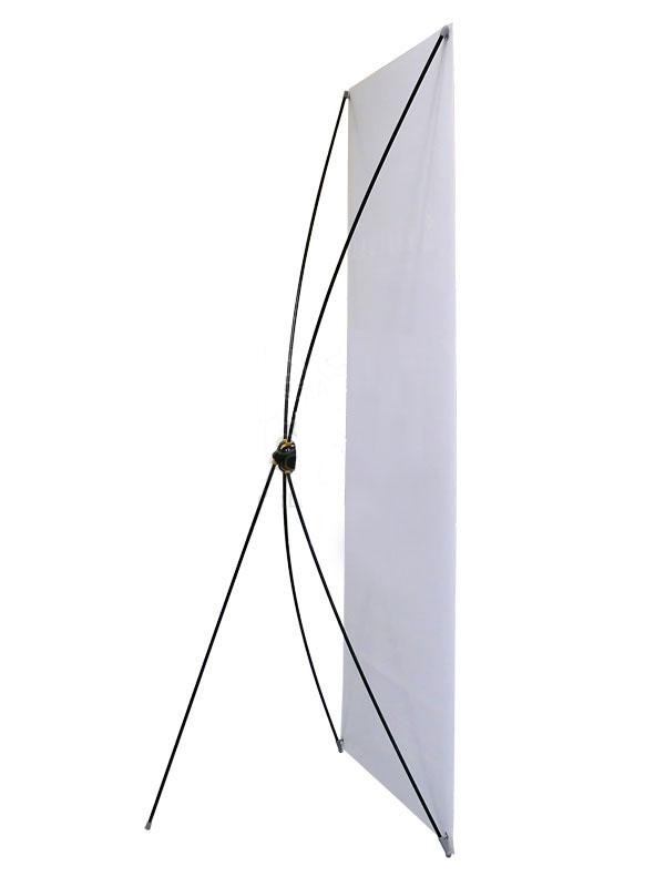 Мобильный стенд Х-банер Lux 200 см