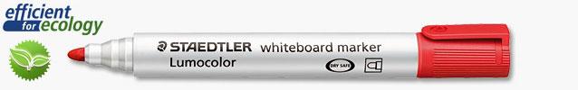 Маркер для магнитно-маркерных досок Lumocolor Compact 1-2мм, красный (Staedtler)
