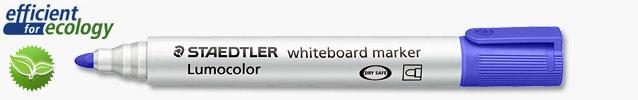 Маркер для магнитно-маркерных досок Lumocolor Compact 1-2мм, синий (Staedtler)