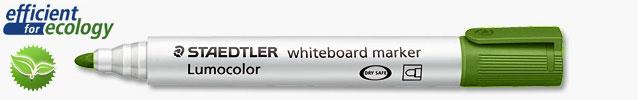 Маркер для магнитно-маркерных досок Lumocolor Compact 1-2мм, зеленый (Staedtler)