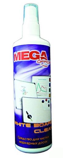 Спрей для маркерных досок MEGA Office White Board Clean (250мл)