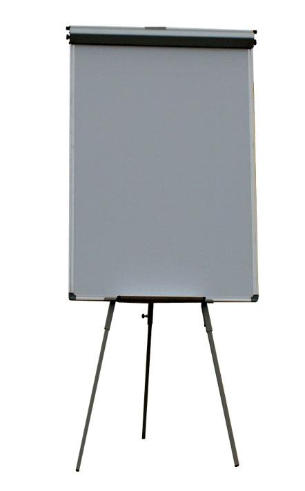 Доска Флипчарт с двумя выдвижными планками 70х100 см