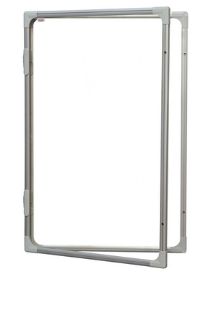 Доска-витрина белая магнитно-маркерная